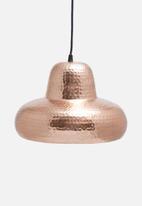 Sixth Floor - Parth copper pendant