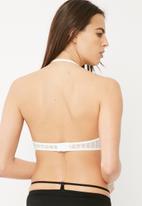Glamorous - High neck lace underwire bra