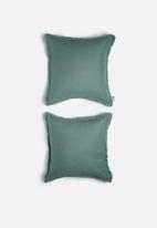 Sixth Floor - Linen cushion cover set