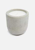Charisma Candles - Rounded base raw cement scented candle