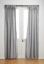 Sixth Floor - Tie top curtain unlined