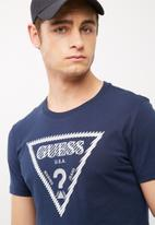 GUESS - BSC caged logo tee