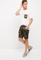 Only & Sons - Stone cargo camo short