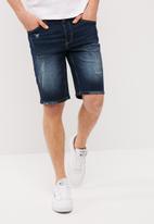 Only & Sons - Slim denim shorts
