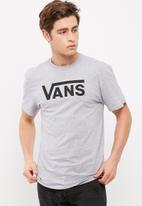 Vans - Vans classic tee - Athletic grey heather/black