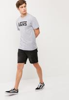 Vans - Vans classic tee - Athletic grey heather/black