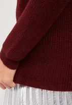 dailyfriday - Choker detail knit