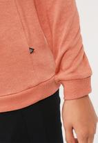 Noisy May - Christian patch off shoulder sweat