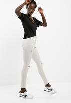 Missguided - V-neck cross strap front tee