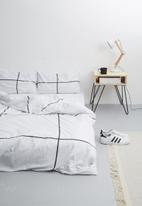 Sixth Floor - Artistic printed duvet set