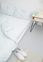 Sixth Floor - Raindrops printed duvet set