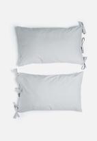 Sixth Floor - Ties pillowcase set