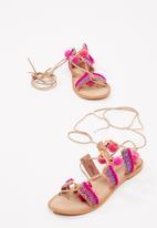 Vero Moda - Lullu leather sandal