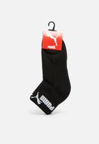 PUMA - Mens 2-pack tech running sock