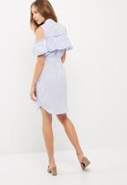 Vero Moda - Akina flounce dress