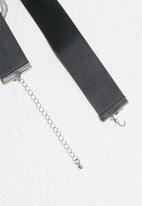 Missguided - Chain drape choker necklace