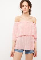 Vero Moda - Jane off shoulder top