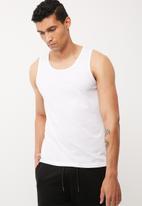 basicthread - Basic slim fit vest
