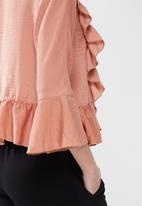 ONLY - Landi frill top
