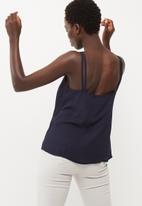dailyfriday - Woven scoop neck cami