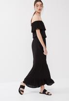 ONLY - Lisa off shoulder maxi dress