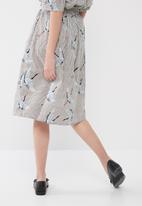 ONLY - Beatrice crane skirt