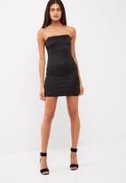 Missguided - Diamonte strap bodycon dress
