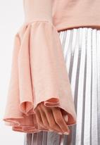 Missguided - Flute cuff sleeve sweat