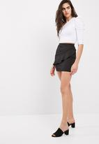 dailyfriday - Ruffle frill mini skirt