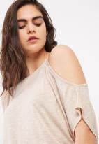dailyfriday - Sexy cold shoulder top