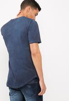 Only & Sons - Matt slim longline tee