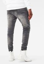 G-Star RAW - Revend Super Slim - Light Aged Destroy