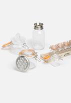 Kilner - Clip storage jar with juicer lid