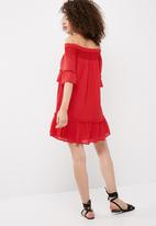 Vero Moda - Hanna off shoulder dress