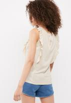 Vero Moda - Laura frill top