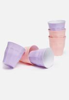 Duralex - Picardie pastel tumbler 220ml - set of 6