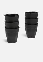 Duralex - Picardie soft touch tumbler - 250ml set of 6