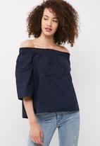Vero Moda - Bella off shoulder midi top