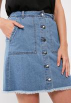 Jacqueline de Yong - Sugar a-line denim skirt