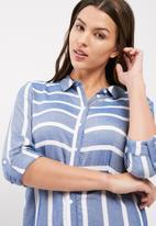 Jacqueline de Yong - Jennar stripe shirt dress