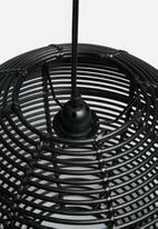 Sixth Floor - Rattanball pendant