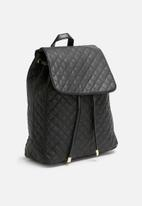 dailyfriday - Quilted medium drawstring backpack