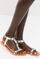 dailyfriday - Kelly sandal - silver