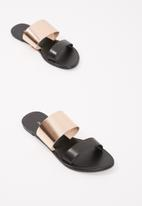 dailyfriday - Double slide sandal