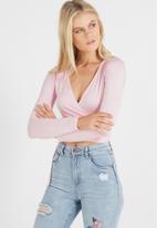 Cotton On - Monique wrap long sleeve top