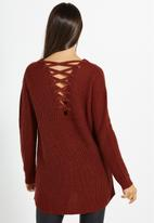 Cotton On - Camilla open back knit