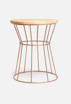 Sixth Floor - Copper side table