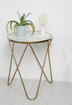 Sixth Floor - Mini disk table lamp