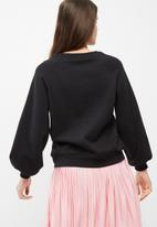Vero Moda - Bud embroidered sweat