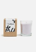 Sixth Floor - Tumbler glass scented candle
